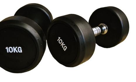 Fasta gummihantlar 2,5-50 kg