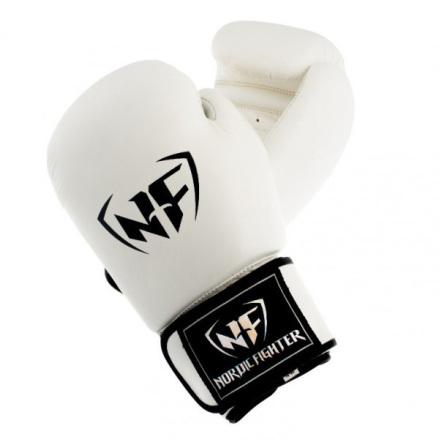 Boxhandske NF Basic White Leather