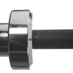 Int. Competition WL Bar, Black 220 cm, 28 mm grepp
