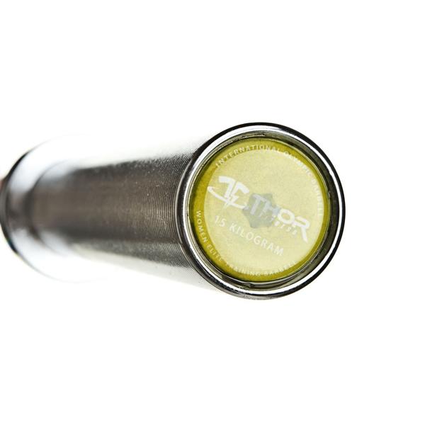 Int. Women's Olympic WL Bar, Crome 201 cm, 25 mm grepp