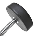 Fasta curlskivstänger med PU gummi, Thor Fitness