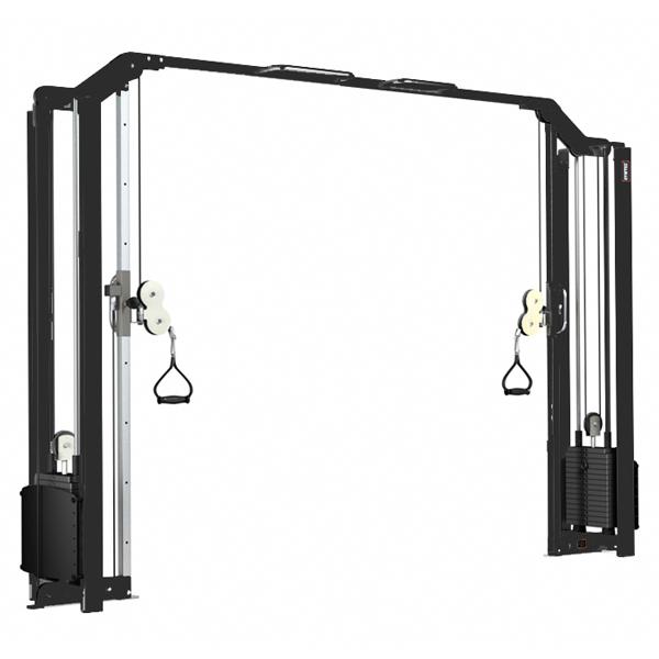 Kryssdrag 2x75 kg Gymleco, 3 höjder 200 / 209 / 225 cm
