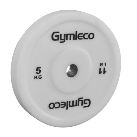 Teknikvikt 5 kg (50 mm Ø), Gymleco